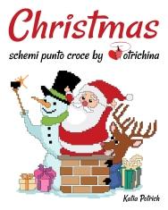 Libro di schemi punto croce natalizi