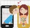 amore attraverso gli smartphone