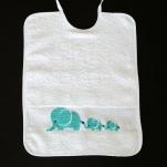 Bavaglio con elefantini
