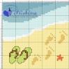 impronte in spiaggia