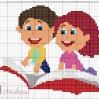 scuola - bimbi sul libro