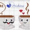 tazze di cioccolato