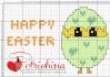 uovo con pulcino happy easter